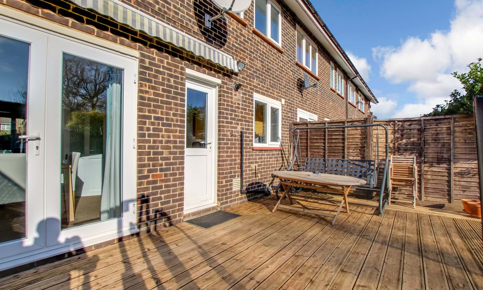 Decking Patio Area