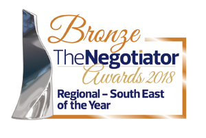 The Negotiator Award - Bronze, Regional - South East Estate Agency of the Year