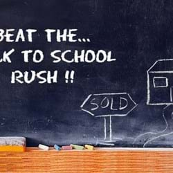 Beat the back to school rush!